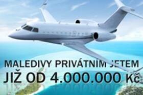 Dovolená soukromým letadlem