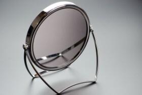 Oboustranné zrcadlo