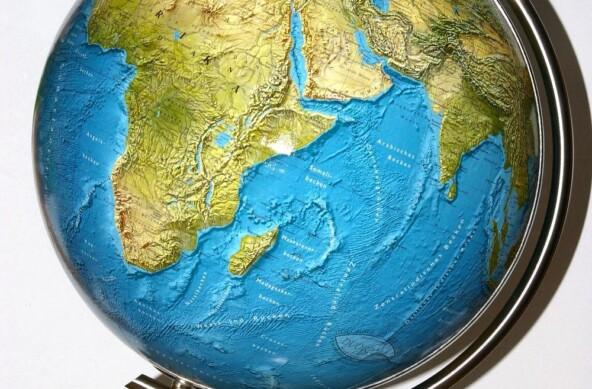 Atlas světa, glóbus