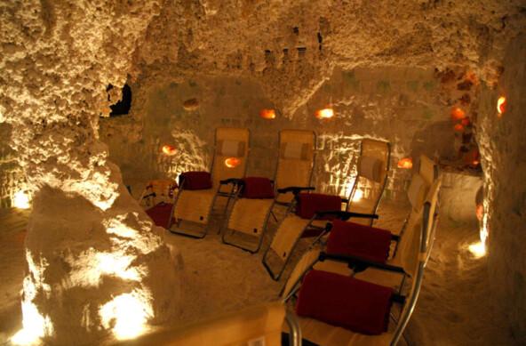 Návštěva solné jeskyně